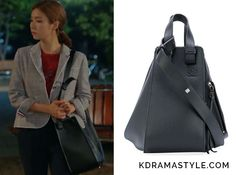 Yoon So Ah (Shin Se Kyung 신세경) carries a large black leather bag in Episode 12 of Bride of the Water God. It istheLoewe Hammock bag. Get itHERE for $2,450. Available from: Barneys New York– $2,450 Moda Operandi – $2,450...