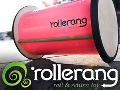 Rollerang - The mysterious toy that rolls back to you using your energy. Rolling out on #kickstarter October 2013
