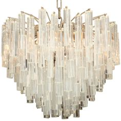 SOLD : SATURDAY SALE : Venini Chandelier for Camer - http://www.1stdibs.com/furniture/lighting/chandeliers-pendant-lights/venini-chandelier-camer/id-f_680720/.