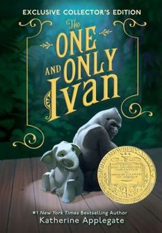 The One and Only Ivan - This one is next on our family read list...I have high hopes because the cover is cute.