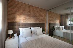 15 Quartos com tijolos a vista ( tijolos aparentes) - Jeito de Casa