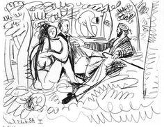 Picasso - Je suis le Cahier Sketchbook 131