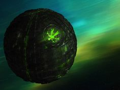 Star Trek Borg Sphere. Although the Sphere comes out of a war ship, it carries out a very quiet job as a scout ship. It is usually carried by the Borg Cube as an auxiliary vessel that scouts a destination for the Cube and the drones inside it. There are about 11,000 Borg drones in a sphere which is approximately 600 meters in diameter. If that seems big enough, the inside has a spacious bay that could hold an Intrepid-class starship perfectly.
