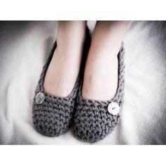 sweet little crocheted shoes