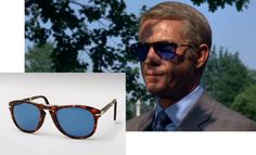 Sunglasses and cigarettes are the key accessories of the 1960's. Above the Persol sunglasses have become iconic as a result of the film and were re-issued in 2008.