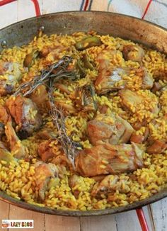 Chicken Paella, Seafood Paella, Avocado Recipes, Rice Recipes, Valenciana Recipe, Paella Recipe, Spanish Dishes, Couscous, Chicken Salad Recipes