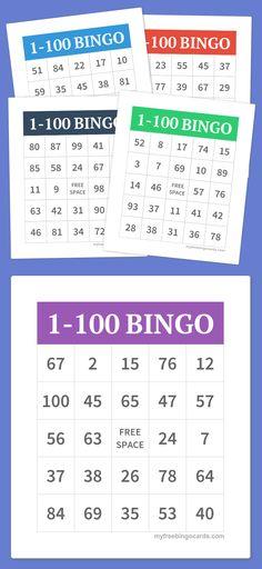 1-100 Bingo