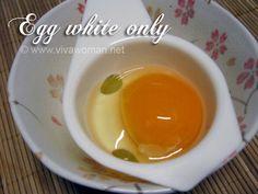 IY Beauty: olive oil & egg white anti-wrinkle mask