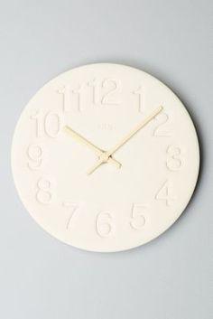 Nasu Wall Clock #Anthropologie