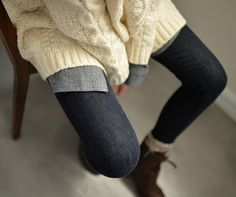 Sweaters and boots are the best!
