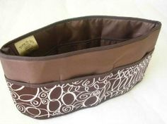 Purse To Go Pockets Plus Purse Organizer, Jumbo-Brown Loops Purse to Go. $32.95