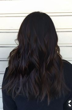Long Wavy Ash-Brown Balayage - 20 Light Brown Hair Color Ideas for Your New Look - The Trending Hairstyle Chocolate Brown Hair Color, Brown Ombre Hair, Hair Color Dark, Light Brown Hair, Brown Hair Colors, Dark Brown Hair Rich, Darkest Brown Hair, Dark Fall Hair Colors, Black Brown Hair