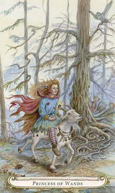 Le valet de bâtons - Le conte de fées de Tarot par Lisa Hunt