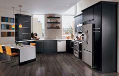 Kitchen, Contemporary & Dynamic, Photo 142 - KraftMaid Photo Gallery