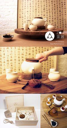 Zon // Diseño: Ching-Yi Angela Chang /7 En muchas culturas, el consumo de té es considerado como una actividad de integración donde familiares y amigos tienen conversaciones y se unen entre sí mientras se disfruta del ocio y el arte de preparar el té. Zon busca traer de vuelta esta socialización que se ve menos ahora que la gente por lo general sólo tiene una taza de dicha bebida.  http://www.chingyichang.com/