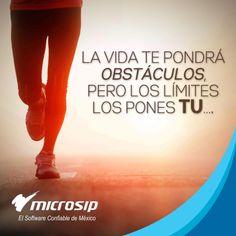 La vida te pondrá obstáculos, pero los límites los pones tu. ..