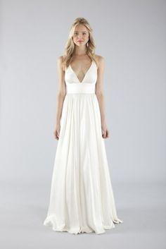 casual boho beach wedding dresses   dress gown ivory wedding beach summer spring casual spaghetti strap ...
