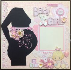 scrapbook+layout+kits+for+baby+girl | baby girls