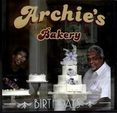 At the height of its popularity, there were 28 Hough bakeries in Northeast Ohio, serving their beloved white cake with white frosting inside the white-and-blue box. Today you can still enjoy a Hough-style cake from Archie's Bakery (14906 Lake Shore Blvd., Cleveland; 216-481-4188), owned by former Hough baker Archie Garner.