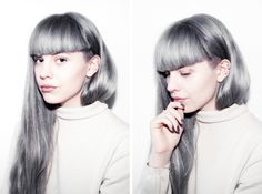 i follow this blogger and i want her hair. i have trying to custom mix this colour, havent yet found the right formula!