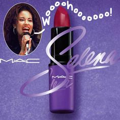 Selena Quintanilla's MAC collection is almost ready.
