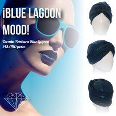 Blue Lagoon Mood #Turban #Turbante #Cancer #Fashion