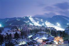 Snowboarding!!!! yongpyong resort