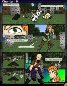 MC: The Beginning Chapter 0 -8 by TomBoy-Comics on deviantART  Ooooooh it's Alex!
