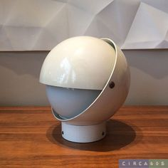 SPHERE table lamp by Stilux Milano, early 1960's on Etsy, $275.00