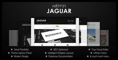 Themeforest Jaguar – Professional Portfolio WordPress Theme Jaguar uncovers suprisingly simple and creative way of editing WordPress websites. It is fun to work with and offers great flexibility both on front- and back-end sid Wordpress Template, Wordpress Theme, Page Template, Templates, Website Footer, Browser Support, Portfolio Website, My Favorite Part, Jaguar