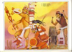 Guerreros Aztecas - Angus McBride