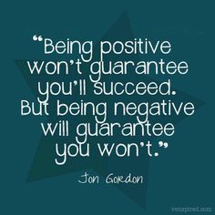 It is so hard to remeber this when feeling negative, but I will!