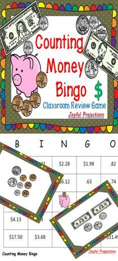 Subtraction Bingo | Bingo, Math and Learning
