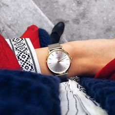 Silver and Gold #CLUSE #watch