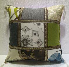 patchwork pillow cushion cover home decor modern decoration sofa throw mod 17 #patchwork