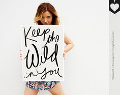 Typography Print by MofEHome
