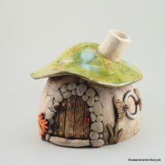 Duftlampe - FLEURY - Kreative Keramik für Haus und Garten