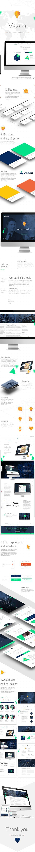 Vazco - digital agency by Martin Wisniewski, via Behance