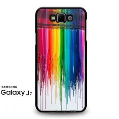 Melting Crayon Art Samsung Galaxy J7 Prime Case