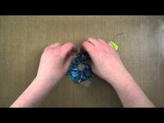 Ribbon Flowers with Glubers - Danielle Daws