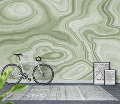Sage Green Marble Texture 8 Wallpaper