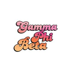 Bubble letters for life! Bring your chapter to life with this fun and bubbly design font Sorority Canvas, Sorority Life, Go Greek, Greek Life, Bubble Letters, Gamma Phi Beta, Canvas Ideas, Retro Design, Canvases