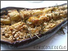 Briciole di Clo ... Funny & Veggielicious!: Melanzane saporite al forno