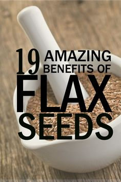 Managing cholesterol, diabetes, cardiovascular and digestive health, cancer, hot flashes, great skin and hair…. what can't 1-2 tablespoons of daily flaxseed do for you?