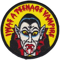 PORK I WAS A TEENAGE VAMPIRE PATCH $7.00 #pork #patch #accessories #vampire