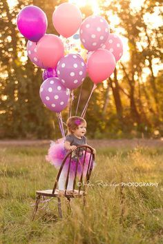 Baby Photo | 1st Birthday | Mrs. Robinson Photography