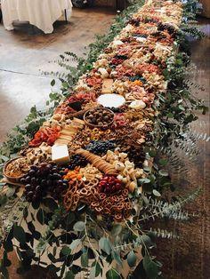 Wedding Table, Rustic Wedding, Wedding Day, Fall Wedding Foods, Cheese Table Wedding, Fall Wedding Cocktails, Wedding Meals, Dream Wedding, Boho Wedding