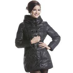Women's Hooded Puff Down Coat