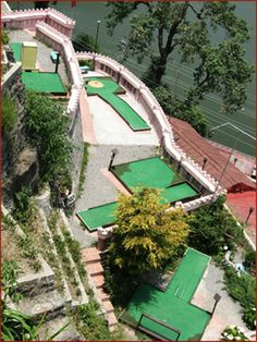 Mini Golf course at Hotel Pavilion