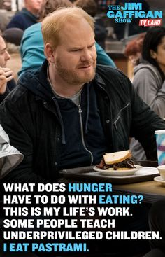 ...because it's totally the same thing... Watch THE JIM GAFFIGAN SHOW starring Jim Gaffigan. Series premieres on July 15, 2015 at 10/9C on TV Land. Click to watch a sneak preview.